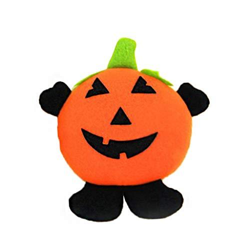 Gjyia Halloween Hängende Verzierung Kürbis Hexe Plüsch Puppe Anhänger Tür Dekor Geschenk EIN 20x16 cm