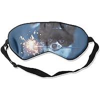Eye Mask Eyeshade Dog Play Fireworks Sleep Mask Blindfold Eyepatch Adjustable Head Strap preisvergleich bei billige-tabletten.eu