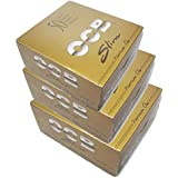 SCORIA Gold OCB King Size Rolling Paper Pack Of 150-3 Full Box (4800 Leaves)