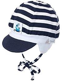 Sterntaler - Schildmütze Baby zum Binden Jungen, dunkelblau - 1601715