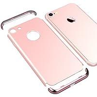VemMore iPhone 7 Hülle Hard Handyhülle Ultra Slim Dünn 360 Hardcase Full Body Case 3 in 1 Gold Bumper Schutz Schutzhülle... preisvergleich bei billige-tabletten.eu