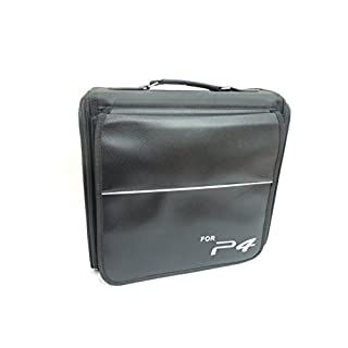 GAMINGER Tasche für PlayStation 4 l Transport, Verstauen, Schutz l Für Konsole, Controller, Kabel, Spiele, Zubehör