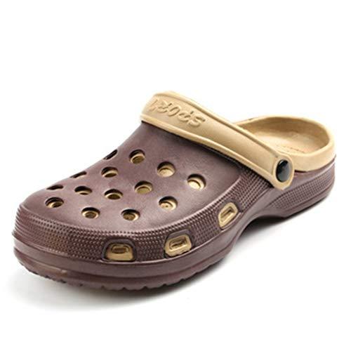 rdín Zapatos de Playa ligeros Zapatillas de agua Casuales al aire Libre de Verano Sandalias Unisex Slingback ()