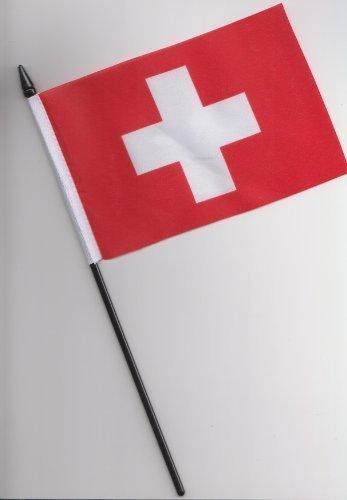 Drapeau Suisse à main 25 cm