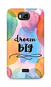 AMEZ dream big Back Cover For Huawei Honor Bee