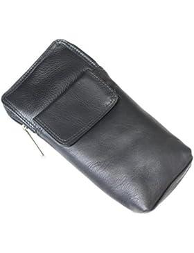 Espectáculo de alta calidad de cuero suave / gafas de soporte de caja.