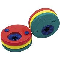 Delphin - Manguitos para aprender a nadar gradualmente, color rojo/amarillo/verde