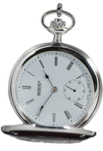 Bernex-Swiss-Made-Mechanical-Solid-Sterling-Silver-Demi-Hunter-Pocket-Watch