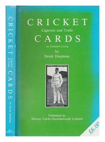Cricket Cigarette and Trade Cards por D. Deadman