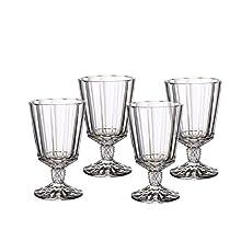 Villeroy & Boch 11-3789-8120 Opera Opéra White Wine Goblet, Set of 4, 225 ml, Crystal Glass, Clear