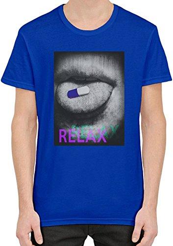 Relax Pill T-Shirt per Uomini XX-Large
