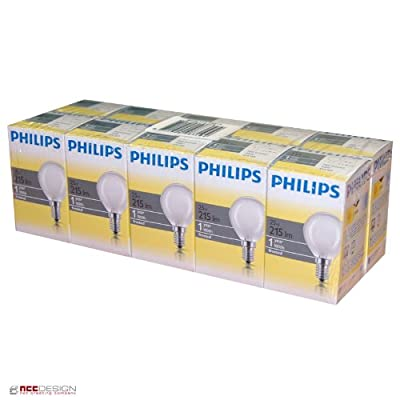 10 x Philips Glühbirne Tropfen 25W E14 MATT Glühlampe 25 Watt Glühbirnen Glühlampen von Philips auf Lampenhans.de