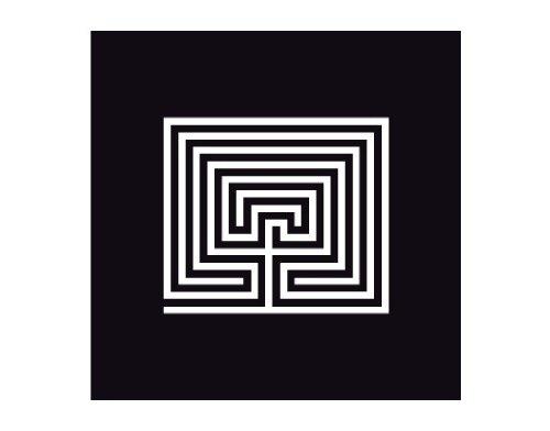 Blind No.UL13 Labyrinth - Lámina autoadhesiva privacidad