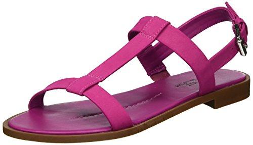Shoe Biz, Sandali con Zeppa Donna Rosa (Nubuk Fuchsia)