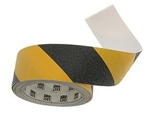 5m x 50mm antirutsch klebeband schwarz gelb elektronik. Black Bedroom Furniture Sets. Home Design Ideas
