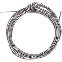 Healifty Cuerdas de Bajo Acústico de 4 Piezas Cuerdas de Bajo Cuerda de Acero Inoxidable de Repuesto para Principiantes Intérpretes Bajo de Guitarra Acústica (Plata)