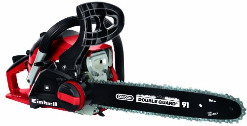 Einhell GH-PC 1535 TC - Motosierra gasolina (1500 W) color rojo y...