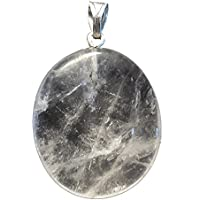 KRIO® - schöner großer Bergkristall Anhänger mit Silberöse preisvergleich bei billige-tabletten.eu