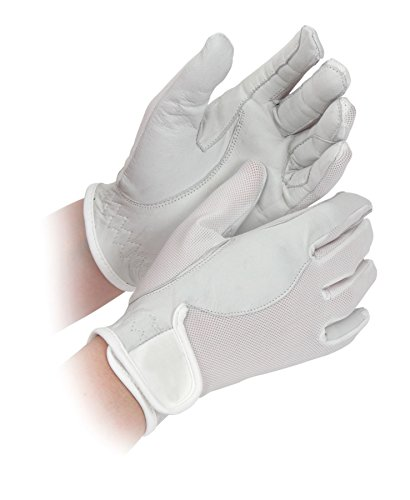41ErF37kRnL BEST BUY UK #1CHILDS SUPER COOL COMPETITION GLOVES HORSE RIDING CLOTHING ACCESSORIES HANDS [WHITE] [X SMALL] price Reviews uk