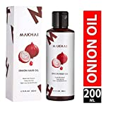 Makhai Onion Hair Growth Oil With 21 Vital ingredients and Essential Oils For