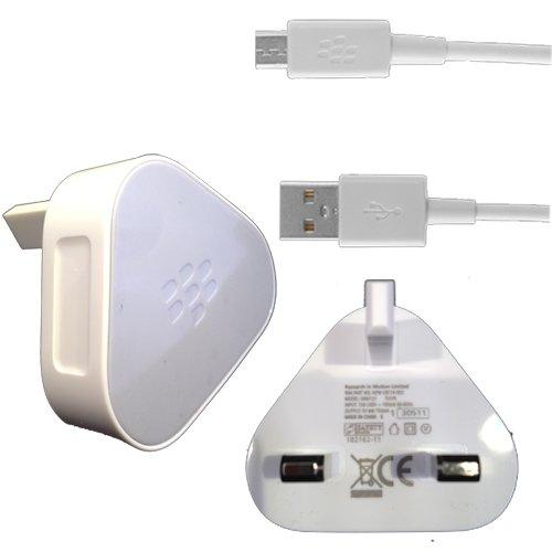 Original Netzteil für BLACKBERRY 9900 BOLD TOUCH 9800 TORCH 9700 9780 9300 8520 CURVE 9500 9520 STORM 9860 9380 9360, UK-Stecker und USB-Kabel