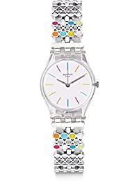 Swatch Damenuhr Digital Quarz mit Plastikarmband – LK368G