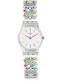 Swatch Reloj Digital de Cuarzo para Mujer con Correa de Plástico – LK368G