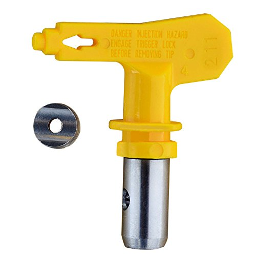 Kkmoon aerografo accessori per ugelli resistenti usura resistenti alla punta a spruzzo airless professionale ad alta pressione