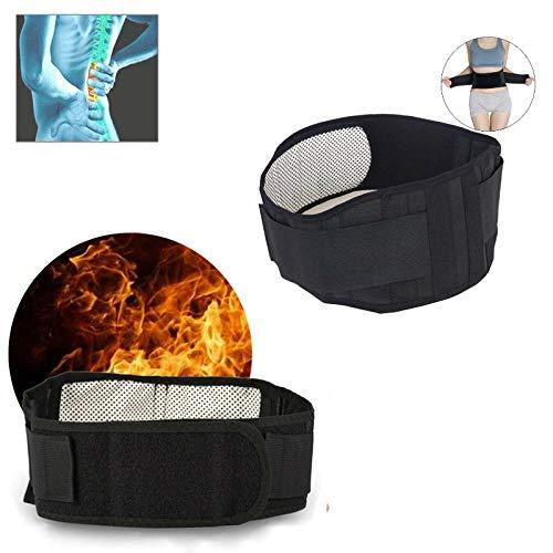 ZeerKeer Nierengurt für Herren und Damen, mit automatischer Aufwärmung, für die Massage im unteren Rückenbereich, magnetischer Therapie, lindert Rückenschmerzen oder Hüftschmerzen XL (105CM)