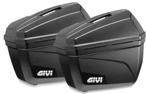 Givi E22N Cruiser Seitenkoffer-Satz Monokey, Schwarz Matt