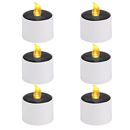 larleuchte LED Kerzen Lampe Flammenlose Teelichter Kerzenlichter für Partei,Hochzeit,Festival Dekoration Blumendekoration-Neue Design (Partei Dekorationen Für Den Ruhestand)