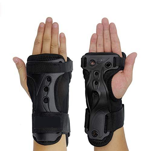 Sarplle Handgelenk Schienen Bandagen Verstellbar Handgelenkschützer Handschutz Handbandage für Inlineskaten, Inlineskaten, Skateboarden, Skifahren