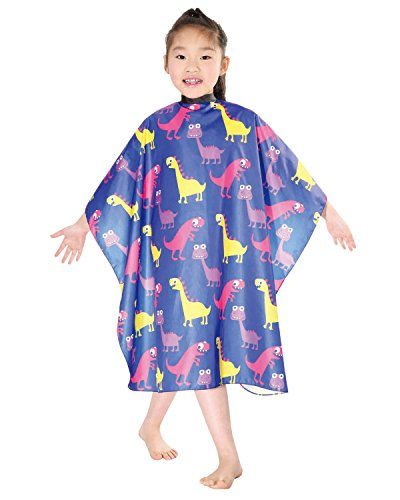 wm-beauty-water-repellent-adjustable-cartoon-pattern-child-hair-cutting-cape-blue
