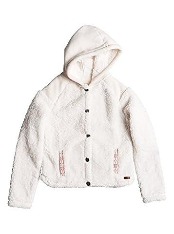 Roxy Oats To Water - Plush Fleece Jacket - Veste en Polaire - Fille - Blanc