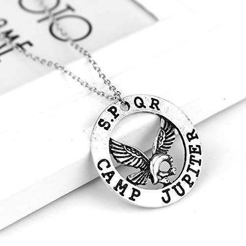 Hot Movie Percy Jackson Camp Halbblut Fliegen Pferd Halskette & Anhänger Fan Geschenk Filme Schmuck Halskette