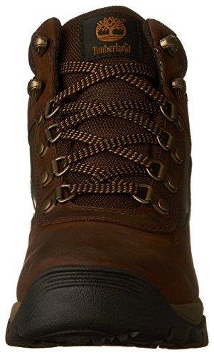 Timberland Keele Ridge Wp Leather Mid, Stivali donna PEWTER OILED Dark Brown