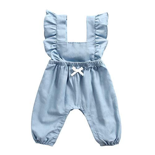 Sanlutoz Neugeborenes Baumwolle Baby Kleider Niedlich Baby Mädchen Bodys Komisch Säugling Spielanzug (0-6 Monate / 66cm, BRW8162)