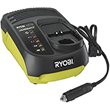 Ryobi RC18118C 18V One+ In-Car Battery Charger - Hyper Green