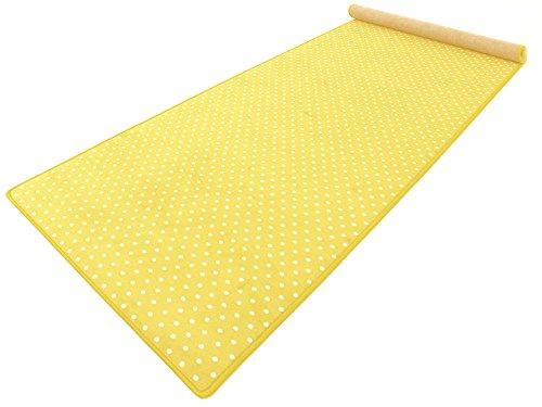 Vorwerk Bijou Petticoat gelb Teppichläufer 120x400 cm Sonderedition