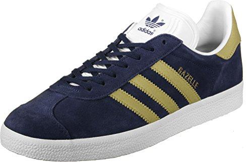 Scarpe Da Ginnastica Adidas Da Uomo Di Gazzella, Blu Blu Oro