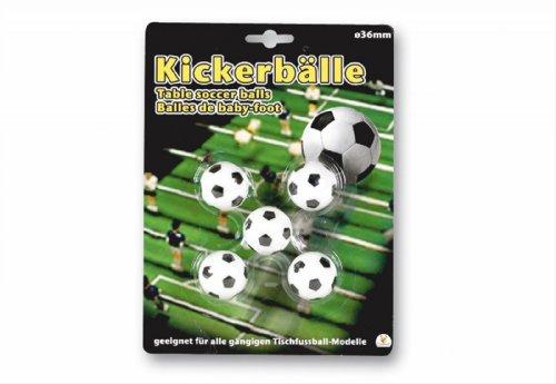 36 Ersatz (New Sports Ersatz-Fußbälle für Kicker, Ø 36mm)