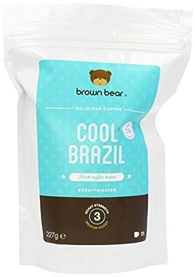 Brown Bear Cool Brazil Swiss Water Decaf Whole Bean Coffee