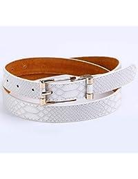 AITU Cinturon de mujer Cinturón Dorado Hebilla Hebilla para Mujeres  Pantalones Vaqueros ac5fa1d2830f