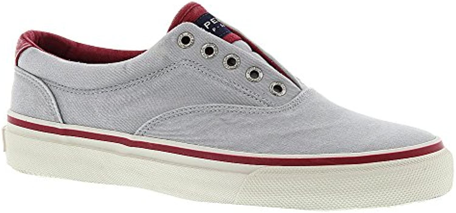 Sperry Striper CVO Grey/Red Sneaker Herren