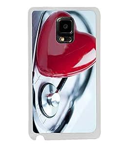 Fuson Designer Back Case Cover for Samsung Galaxy Note Edge :: Samsung Galaxy Note Edge N915Fy N915A N915T N915K/N915L/N915S N915G N915D (Life Doctor Love Profession Stethescope Love Heart)