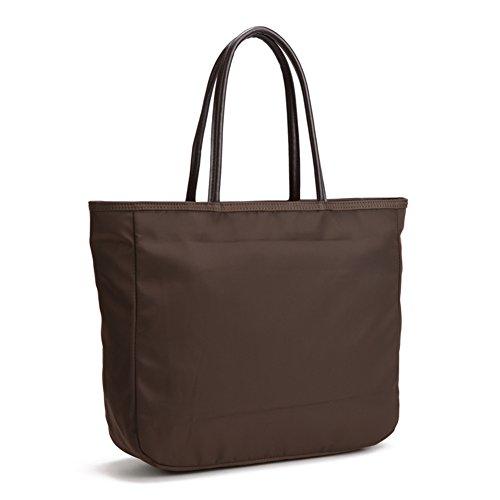 Semplice versatile Oxford nylon impermeabile sacchetto di tela/borsa a tracolla Tote-T T