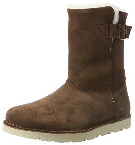 BIRKENSTOCK Shoes Damen Westford Stiefel, Braun (Espresso Lammfell), 38 EU