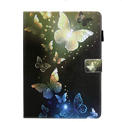 Bumina Hülle für iPad Pro 11 2018 Hülle, Die dünnste und leichteste Schutzhülle Smart Cover mit Auto Sleep/Wake kompatibel mit iPad Pro 11 Zoll A1980 A2013 A1934 A1979 Goldener Schmetterling