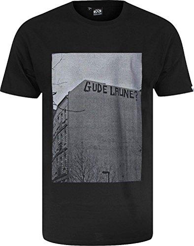 GUDE Gude Laune T-Shirt Schwarz