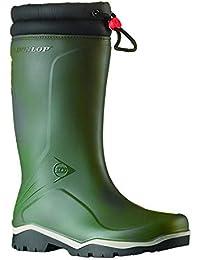 Dunlop - Botas de agua para invierno estilo Wellington modelo Blizzard unisex